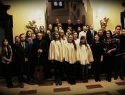 Życzenia młodzieży u biskupów 2017